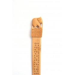 Letter Opener - Wooden Elephant Carving