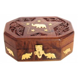 Wooden Jewellery Box with...