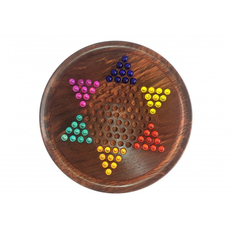 Chinese Checkers board set with Marbles