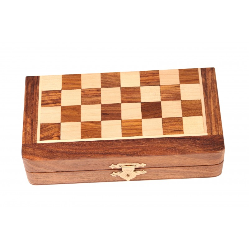Wooden Magnetic Chess Set