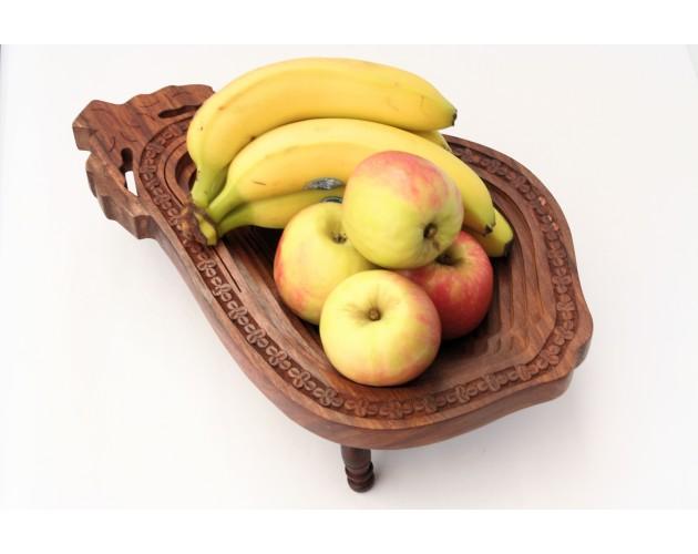 Wooden Fruit Bowl