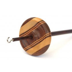 Wooden Drop Spindle - Top Whorl