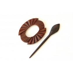 Rosewood Shawl Pin - HSPA-17