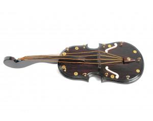 Guitar Shaped Wooden Key Holder