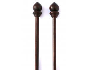 Rose Wood Knitting Needles...