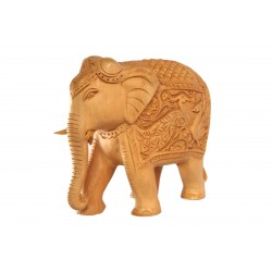 Wooden Carved Elephant